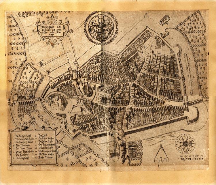 Das Stadtmuseum Oldenburg bietet ab sofort unter dem Titel Vermessen – Oldenburger Karten und Pläne eine Online-Ausstellung.