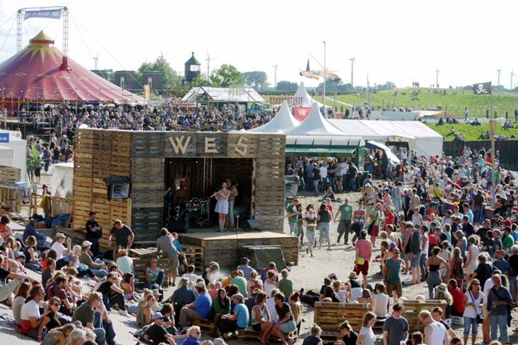 Das 2016er Watt en Schlick-Festival in Dangast war erstmals ausverkauft.