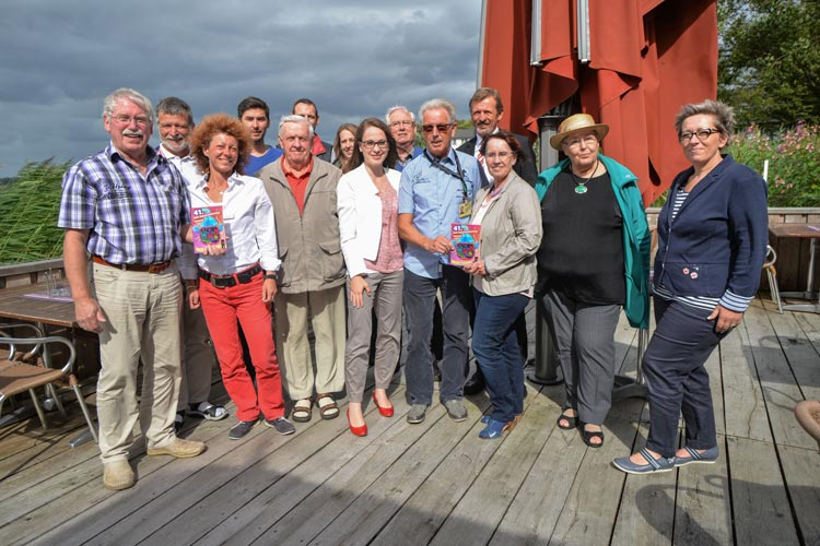 Die Organisatoren der Zwischenahner Wochje stellten das Programm für 2016 vor.