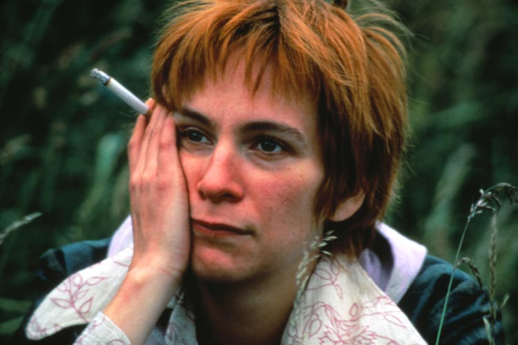 Amanda Plummer in Butterfly Kiss.