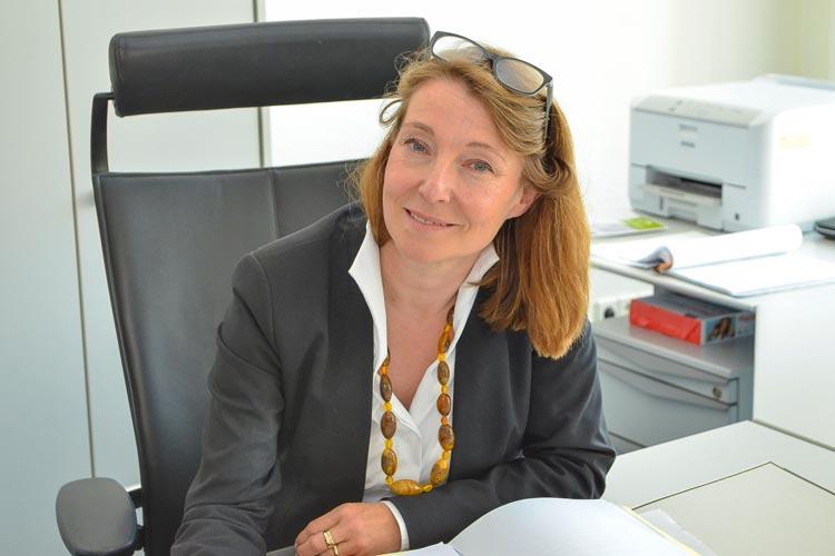 Anke van Hove ist die neue Präsidentin des Oberlandesgerichtes Oldenburg. Sie berichtet, dass das ehemalige Gefängnis ein Aktenarchiv wird.