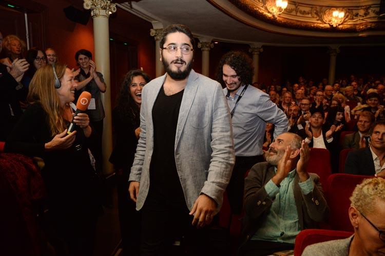 Der Regisseur Emre Konuk wurde gestern gefeiert.