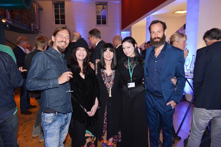 EWE Filmfestempfang  mit Amanda Plummer.