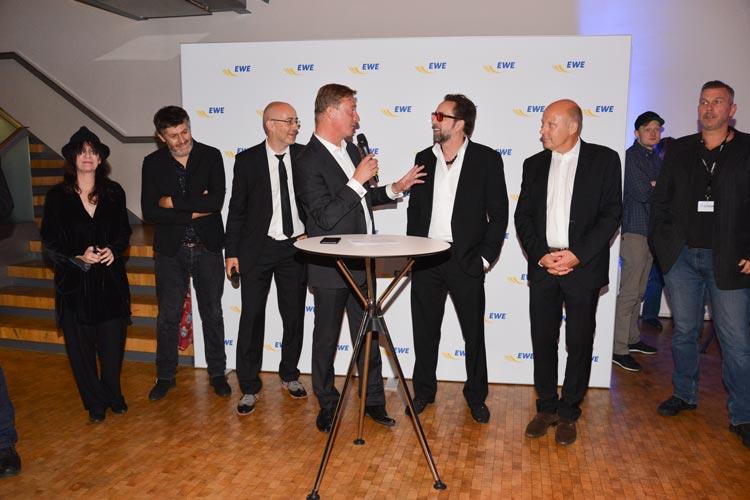 EWE Filmfestempfang  mit Nicolas Cage.
