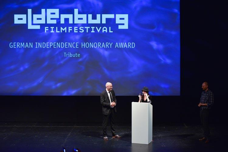 Filmfestgala im Oldenburgischen Staatstheater.