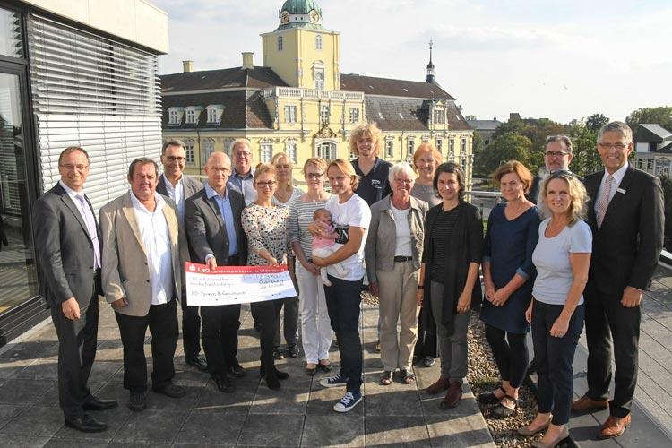 Mit 9370 Euro hat die Regionaldirektion Oldenburg der LzO im ersten Halbjahr 2016 insgesamt 21 Projekte finanziell gefördert.