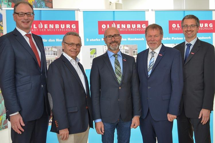 Die drei handwerklichen Meisterschulen werden künftig unter dem Motto Oldenburg – Stadt der Meisterschulen auf sich aufmerksam machen.
