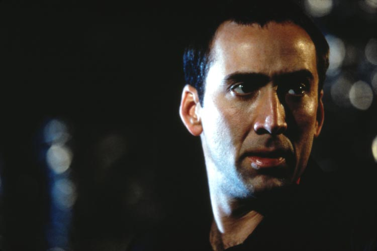 Nicolas Cage in Face/Off.
