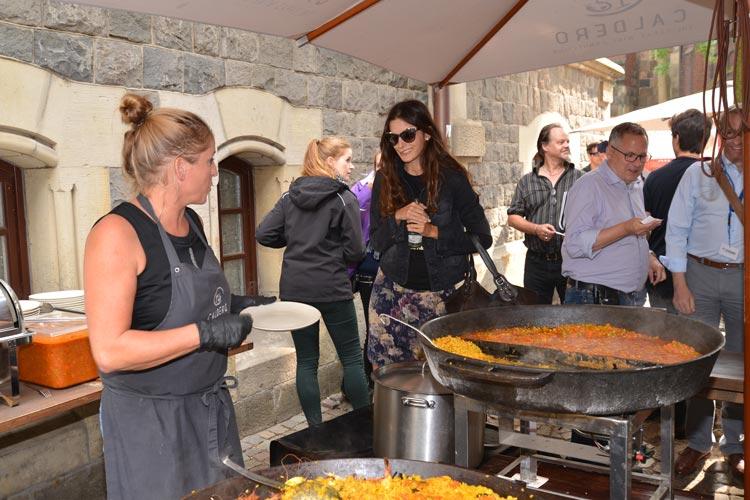 Paella zum Katerfrühstück.