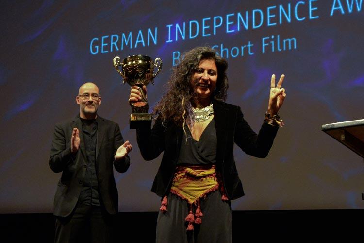 Ruken Tekes erhielt den Preis für den besten Kurzfilm.