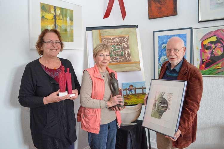 Die unterfinanzierte Aids-Hilfe Oldenburg veranstaltet am 29. Oktober erneut eine Kunstauktion im Oldenburger Kulturzentrum PFL.