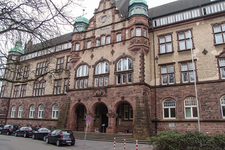 Das Oldenburger Amtsgericht wird saniert.