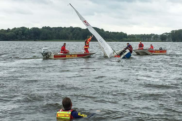 Die DLRG Bad Zwischenahn rettete Leben und sicherte Boote.