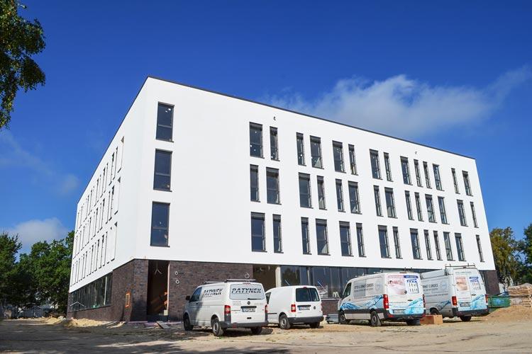 Im Oldenburger Stadtteil Kreyenbrück baut die Diakonie für 10,5 Millionen Euro die neue Fachklinik Weser-Ems.
