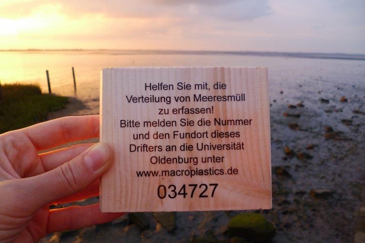 Wissenschaftler des Verbundprojekts Makroplastik in der südlichen Nordsee – Quellen der Uni Oldenburg starten eine Mitmachaktion.