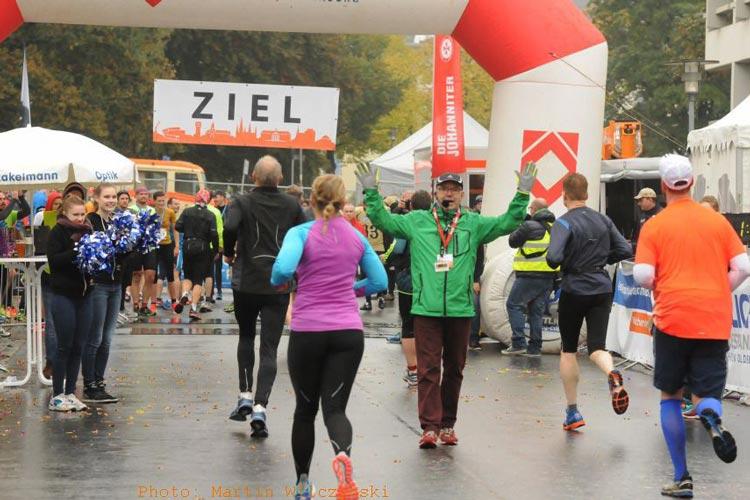 Die sechs Läufe des Oldenburg Marathons enden am Ziel auf dem Schlossplatz.