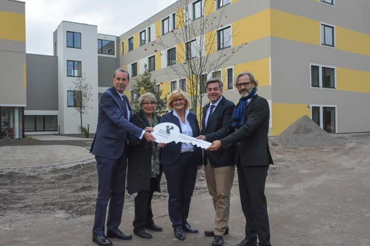 Nach 20 Jahren wurde das Reha-Zentrum Oldenburg für Anschlussheilbehandlung und Rehabilitation aufgrund der großen Nachfrage erweitert.
