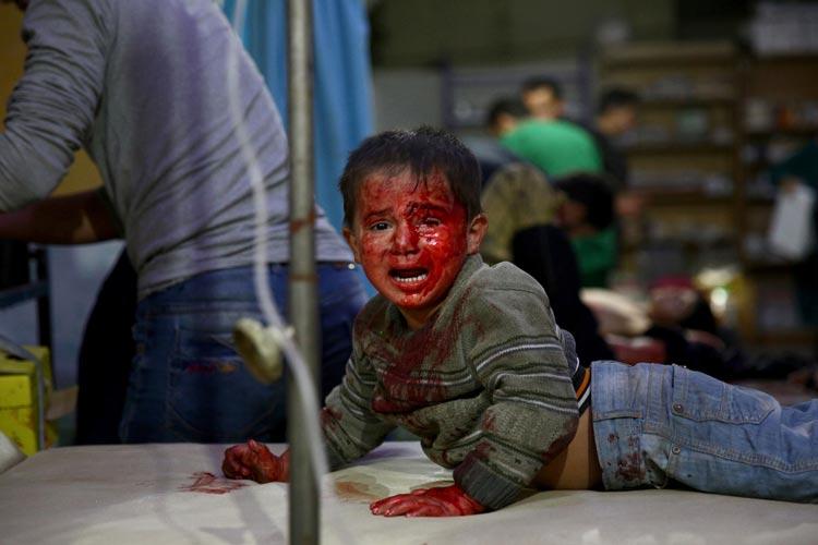 DoumaÔÇÖs Children in Syrien von Abd Doumany.