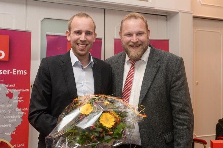 Die SPD schickt den Bundestagsabgeordneten Dennis Rohde erneut ins Rennen. Mit großer Mehrheit wurde er als Bundestagskandidat gewählt.