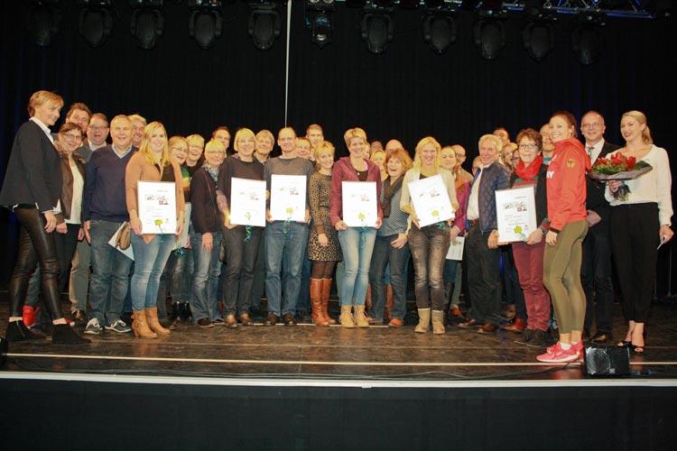 Am Abschlussabend wurden die Gewinner der fünf Kategorien geehrt.