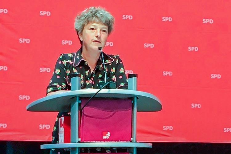 Hanna Naber kandidiert für den Niedersächsischen Landtag.