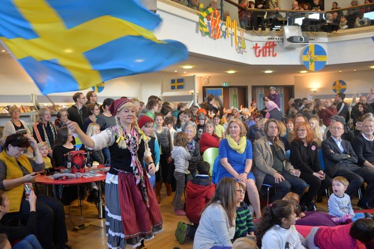 Die schwedische Kinderliteratur steht im Mittelpunkt der Oldenburger Kinderbuchmesse 2016.