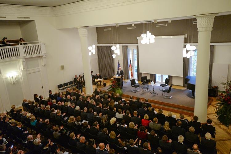 Der Niedersächsische Landtag sowie das Kabinett feierten das 100-jährige Bestehen des Alten Oldenburger Landtags.