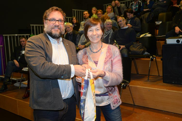 Der Grünen-Bundestagsabgeordnete Peter Meiwald wurde von 43 Parteimitgliedern einstimmig zum Kandidaten für die Bundestagswahl gekürt.