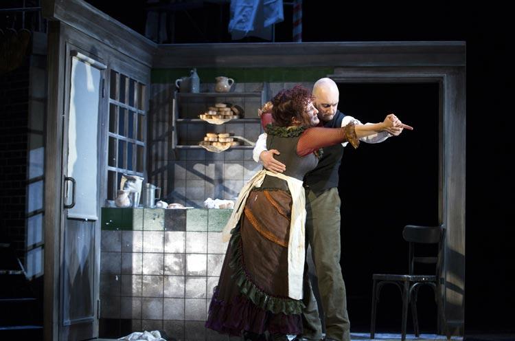 Sweeney Todd im Oldenburgischen Staatstheater.
