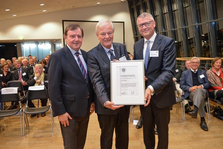 Uwe Bartels ist mit dem Oldenburger Wirtschaftspreis geehrt worden.