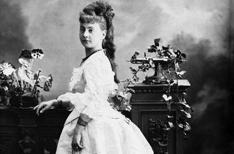 Fanny Moran-Olden als Isolde in Wagners Tristan und Isolde.
