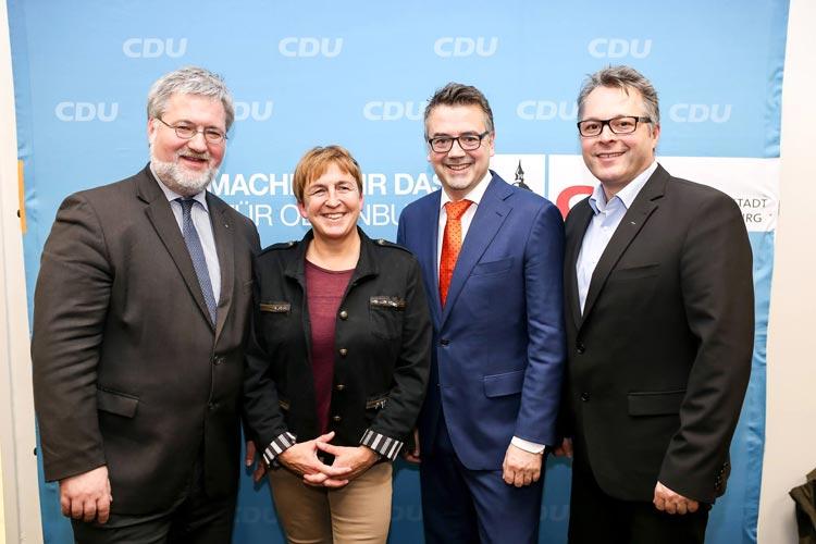 Die Oldenburger Union schickt Christoph Baak und Esther Niewerth-Baumann in den Landtagswahlkampf.