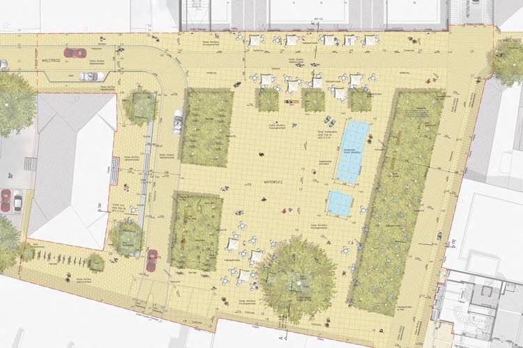 So soll der neue Waffenplatz in Oldenburg aussehen.