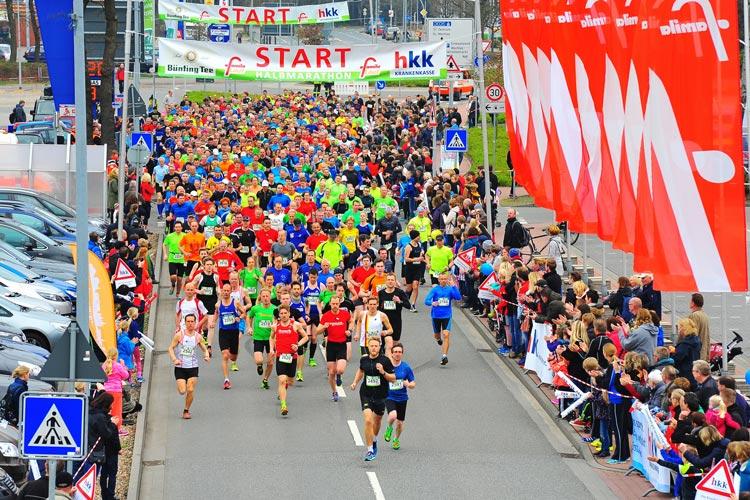 Rund 1600 Läufer sind im vergangenen Jahr an den Start gegangen.