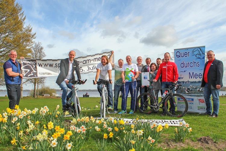 Zahlreiche Sportveranstaltungen finden unter dem Motto Aktiv am Meer wieder in Bad Zwischenahn statt. Schwimmen, Laufen, Radfahren und Segeln stehen auf dem Programm.