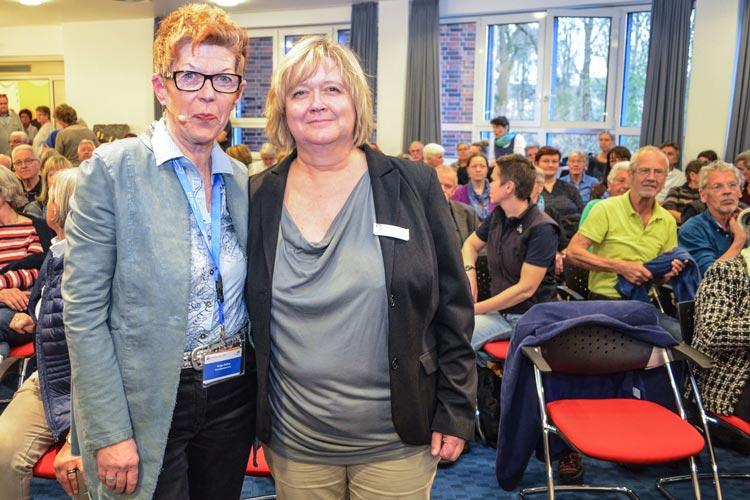 Helga Rohra berichtete sie auf Einladung des DemenzNetzwerks Oldenburg und des Klinikums Oldenburg über ihr Leben mit Demenz.