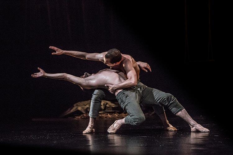 Le Ballets Bubeníček aus Tschechien ist bei den Internationalen Tanztagen des Oldenburgischen Staatstheaters zu Gast.