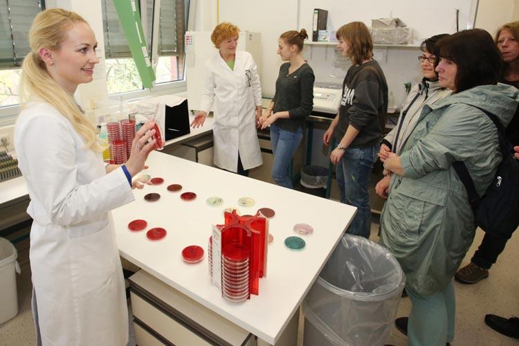 Anlässlich des Welttages des Labors lädt das Zentrallabor des Klinikums Oldenburg zu einem Informationstag ein.