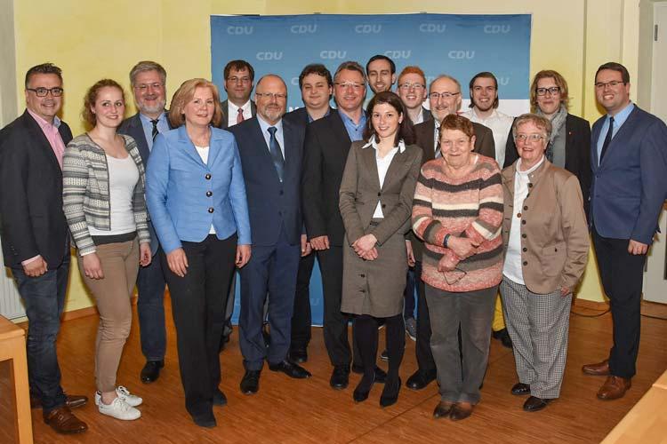 Die Christdemokraten der Stadt Oldenburg ziehen mit ihrer alten Führung in die kommenden Wahlen zu Bundestag und Landtag.