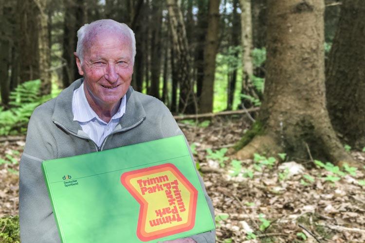 Prof. Dr. Jürgen Dieckert ist der Gründer des Trimmpfads Wildenloh.