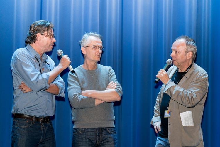Olaf Kreamer, Christian Jeltsch und Volker Bergmeister (von links).