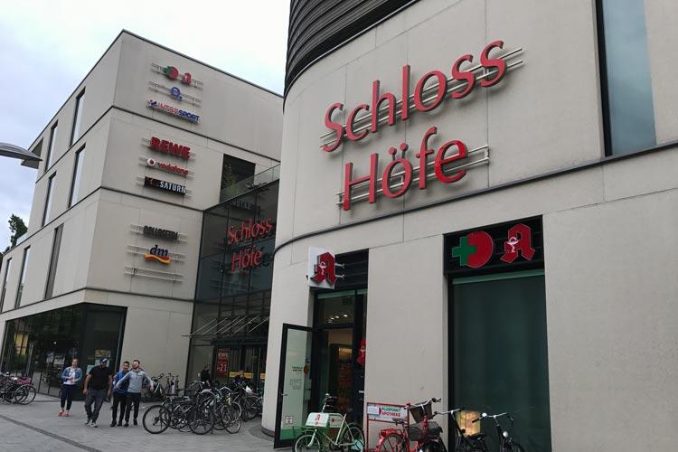 SPD und CDU haben grünes Licht für eine Erweiterung der Schlosshöfe gegeben. Das ECE-Einkaufszentrum sorgt weiter für politischen Streit.