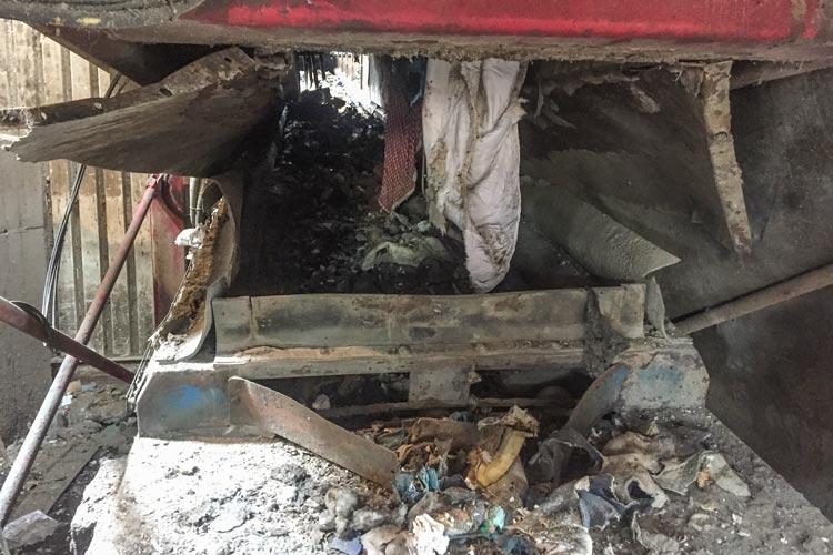 In der Abfallbehandlungsanlage des städtischen Abfallwirtschaftsbetriebes (AWB) in Neuenwege ist es heute zu einer Explosion gekommen.