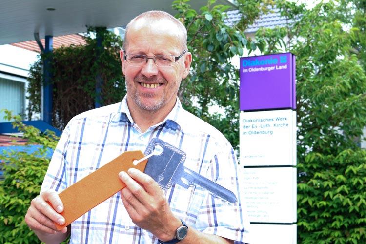 Der Schlüssel zur eigenen Wohnung fehlt zu vielen Menschen in Oldenburg, warnt Heinz-Hermann Buse.