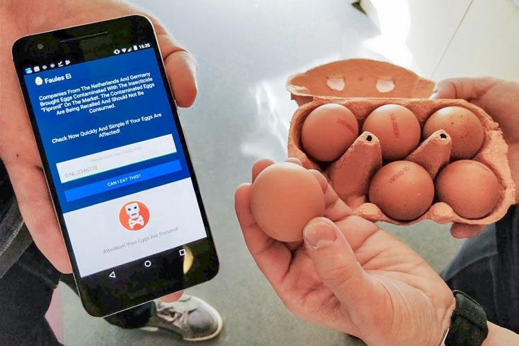 Sechs Mitarbeiter der Firma Abelsoft haben innerhalb eines Tages die App Faules Ei entwickelt.