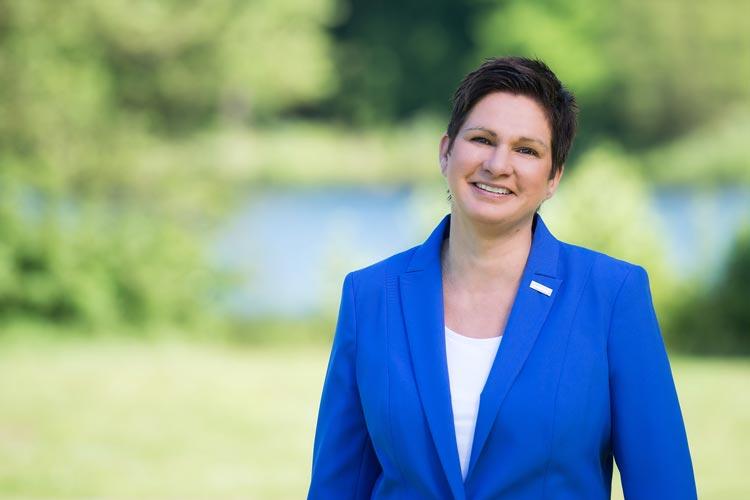 Bundestagskandidatin Claudia Theis (Freie Wähler).