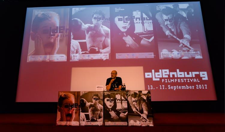 Filmfestchef Torsten Neumann stellte im Rahmen einer Pressekonferenz erste Details zum diesjährigen Internationalen Filmfestes Oldenburg vor.