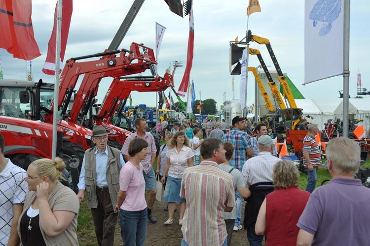 Landtage Nord in Wüsting erwarten vom 18. bis 21. August rund 70.000 Besucher.