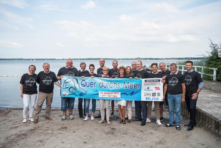 Unter dem Motto Quer durchs Meer 2017 findet am Samstag, 12. August, ein Freiwasser- und Langstreckenschwimmen im Zwischenahner Meer statt.
