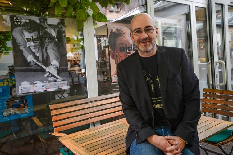 Torsten Neumann hatte in diesem Jahr die Qual der Wahl aus rund 1000 Filmeinreichungen.